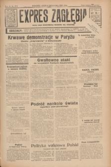 Expres Zagłębia : jedyny organ demokratyczny niezależny woj. kieleckiego. R.11, nr 274 (6 października 1936)