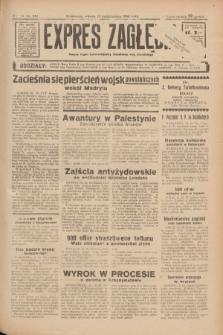 Expres Zagłębia : jedyny organ demokratyczny niezależny woj. kieleckiego. R.11, nr 281 (13 października 1936)