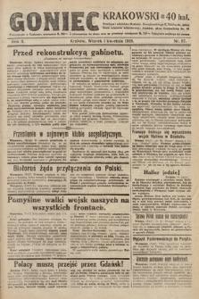 Goniec Krakowski. 1919, nr87