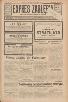 Expres Zagłębia : jedyny organ demokratyczny niezależny woj. kieleckiego. R.11, nr 316 (17 listopada 1936)