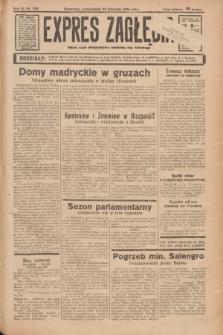 Expres Zagłębia : jedyny organ demokratyczny niezależny woj. kieleckiego. R.11, nr 322 (23 listopada 1936)