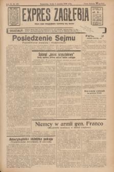 Expres Zagłębia : jedyny organ demokratyczny niezależny woj. kieleckiego. R.11, nr 331 (2 grudnia 1936)