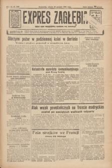 Expres Zagłębia : jedyny organ demokratyczny niezależny woj. kieleckiego. R.11, nr 355 (29 grudnia 1936)