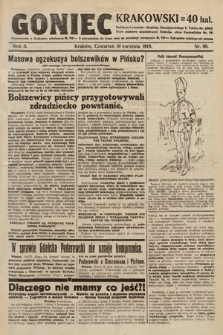 Goniec Krakowski. 1919, nr96