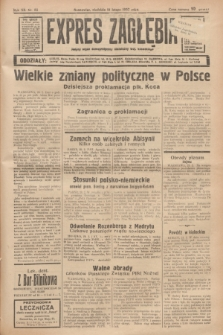 Expres Zagłębia : jedyny organ demokratyczny niezależny woj. kieleckiego. R.12, nr 52 (21 lutego 1937) + wkładka