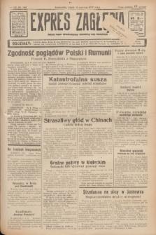 Expres Zagłębia : jedyny organ demokratyczny niezależny woj. kieleckiego. R.12, nr 160 (11 czerwca 1937)