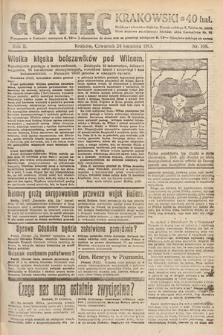 Goniec Krakowski. 1919, nr108