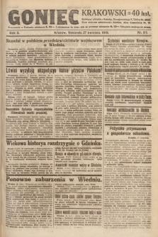 Goniec Krakowski. 1919, nr111