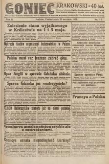 Goniec Krakowski. 1919, nr112
