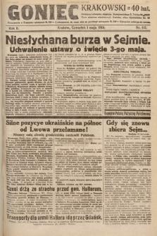 Goniec Krakowski. 1919, nr115