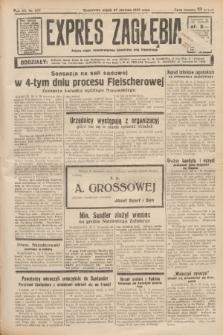 Expres Zagłębia : jedyny organ demokratyczny niezależny woj. kieleckiego. R.12, nr 237 (27 sierpnia 1937)