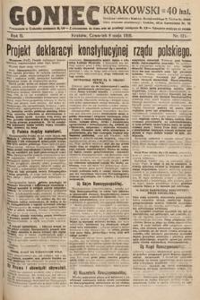 Goniec Krakowski. 1919, nr121