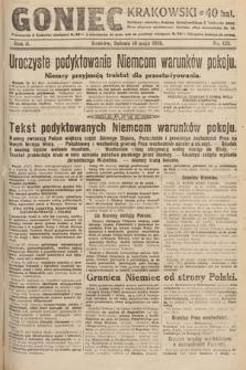 Goniec Krakowski. 1919, nr123