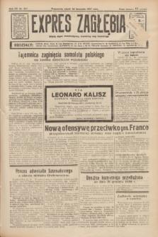 Expres Zagłębia : jedyny organ demokratyczny niezależny woj. kieleckiego. R.12, nr 327 (26 listopada 1937)