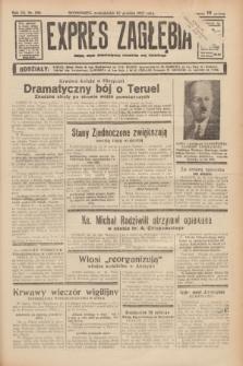 Expres Zagłębia : jedyny organ demokratyczny niezależny woj. kieleckiego. R.12, nr 356 (27 grudnia 1937)