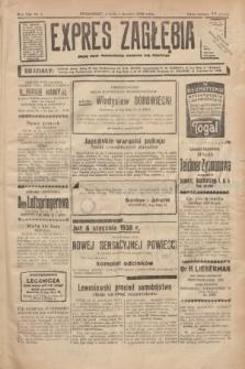 Expres Zagłębia : jedyny organ demokratyczny niezależny woj. kieleckiego. R.13, nr 1 (1 stycznia 1938) + wkładka