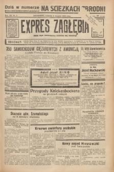 Expres Zagłębia : jedyny organ demokratyczny niezależny woj. kieleckiego. R.13, nr 5 (6 stycznia 1938)