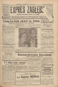 Expres Zagłębia : jedyny organ demokratyczny niezależny woj. kieleckiego. R.13, nr 8 (9 stycznia 1938) + wkładka