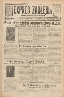 Expres Zagłębia : jedyny organ demokratyczny niezależny woj. kieleckiego. R.13, nr 10 (11 stycznia 1938)