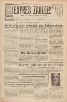 Expres Zagłębia : jedyny organ demokratyczny niezależny woj. kieleckiego. R.13, nr 13 (14 stycznia 1938)
