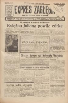 Expres Zagłębia : jedyny organ demokratyczny niezależny woj. kieleckiego. R.13, nr 31 (1 lutego 1938)