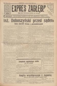 Expres Zagłębia : jedyny organ demokratyczny niezależny woj. kieleckiego. R.13, nr 35 (5 lutego 1938)