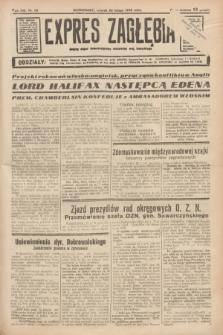 Expres Zagłębia : jedyny organ demokratyczny niezależny woj. kieleckiego. R.13, nr 52 (22 lutego 1938)