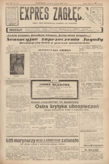 Expres Zagłębia : jedyny organ demokratyczny niezależny woj. kieleckiego. R.13, nr 67 (9 marca 1938)