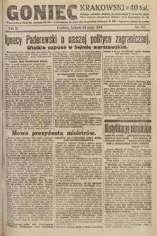 Goniec Krakowski. 1919, nr137