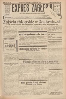 Expres Zagłębia : jedyny organ demokratyczny niezależny woj. kieleckiego. R.13, nr 103 (14 kwietnia 1938)