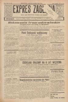 Expres Zagłębia : jedyny organ demokratyczny niezależny woj. kieleckiego. R.13, nr 107 (20 kwietnia 1938)