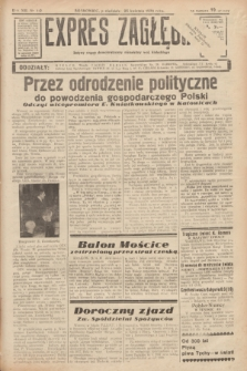 Expres Zagłębia : jedyny organ demokratyczny niezależny woj. kieleckiego. R.13, nr 112 (25 kwietnia 1938)