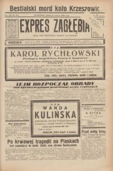 Expres Zagłębia : jedyny organ demokratyczny niezależny woj. kieleckiego. R.13, nr 158 (11 czerwca 1938)