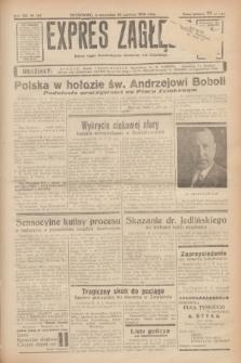 Expres Zagłębia : jedyny organ demokratyczny niezależny woj. kieleckiego. R.13, nr 167 (20 czerwca 1938)