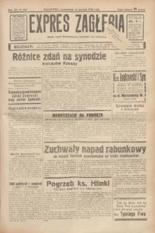 Expres Zagłębia : jedyny organ demokratyczny niezależny woj. kieleckiego. R.13, nr 229 (22 sierpnia 1938)