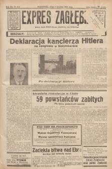 Expres Zagłębia : jedyny organ demokratyczny niezależny woj. kieleckiego. R.13, nr 245 (7 września 1938)