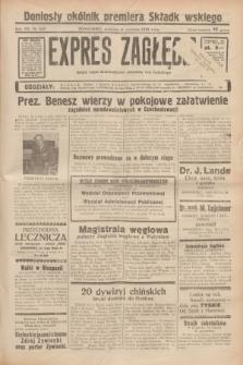 Expres Zagłębia : jedyny organ demokratyczny niezależny woj. kieleckiego. R.13, nr 249 (11 września 1938) + wkładka
