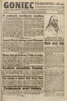 Goniec Krakowski. 1919, nr153