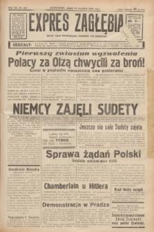 Expres Zagłębia : jedyny organ demokratyczny niezależny woj. kieleckiego. R.13, nr 261 (23 września 1938)