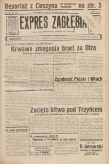 Expres Zagłębia : jedyny organ demokratyczny niezależny woj. kieleckiego. R.13, nr 266 (28 września 1938)