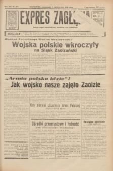 Expres Zagłębia : jedyny organ demokratyczny niezależny woj. kieleckiego. R.13, nr 271 (3 października 1938)