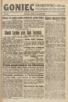 Goniec Krakowski. 1919, nr155