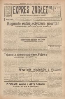 Expres Zagłębia : jedyny organ demokratyczny niezależny woj. kieleckiego. R.13, nr 281 (12 października 1938)
