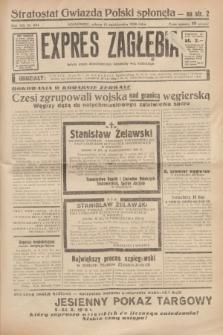 Expres Zagłębia : jedyny organ demokratyczny niezależny woj. kieleckiego. R.13, nr 284 (15 października 1938)