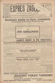 Expres Zagłębia : jedyny organ demokratyczny niezależny woj. kieleckiego. R.13, nr 287 (18 października 1938)