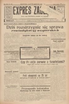 Expres Zagłębia : jedyny organ demokratyczny niezależny woj. kieleckiego. R.13, nr 294 (25 października 1938)