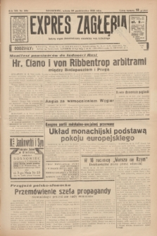 Expres Zagłębia : jedyny organ demokratyczny niezależny woj. kieleckiego. R.13, nr 298 (29 października 1938)