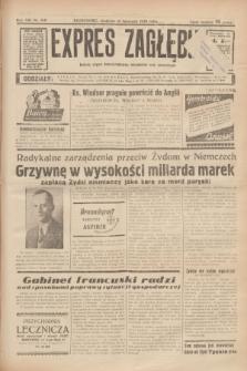Expres Zagłębia : jedyny organ demokratyczny niezależny woj. kieleckiego. R.13, nr 312 (13 listopada 1938) + wkładka