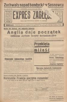 Expres Zagłębia : jedyny organ demokratyczny niezależny woj. kieleckiego. R.13, nr 321 (22 listopada 1938)