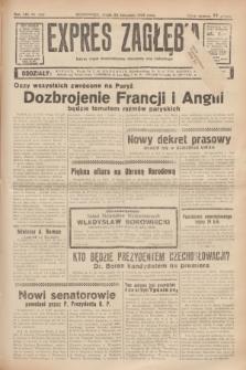 Expres Zagłębia : jedyny organ demokratyczny niezależny woj. kieleckiego. R.13, nr 322 (23 listopada 1938)